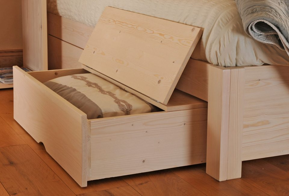 under bed storage drawers with wheels feelgood eco beds. Black Bedroom Furniture Sets. Home Design Ideas