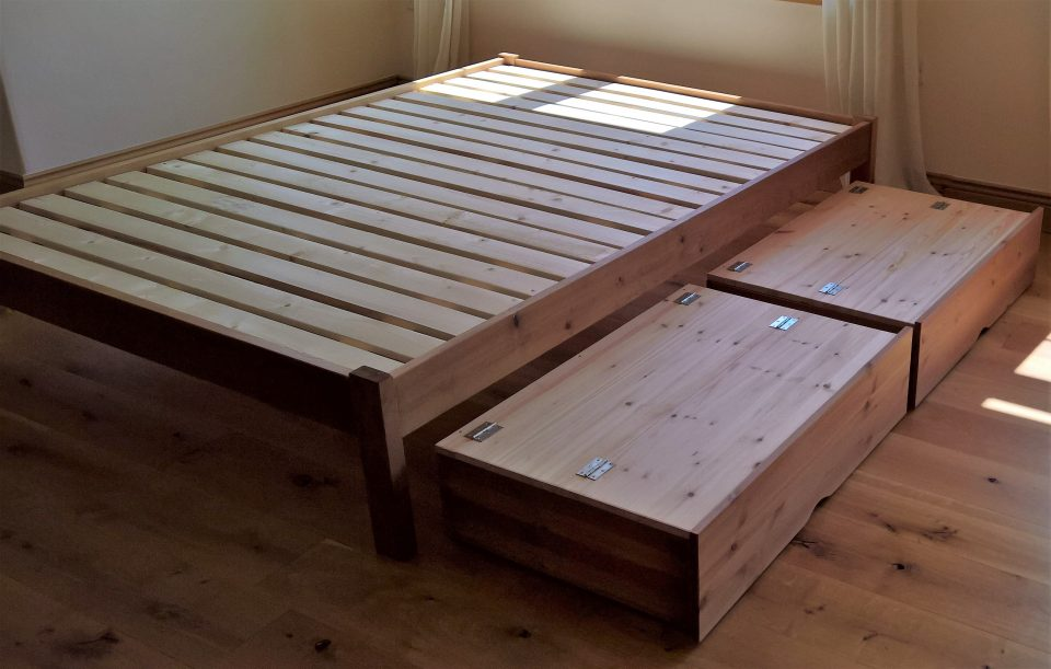 Solid Wood Beds With Storage Sale The Test