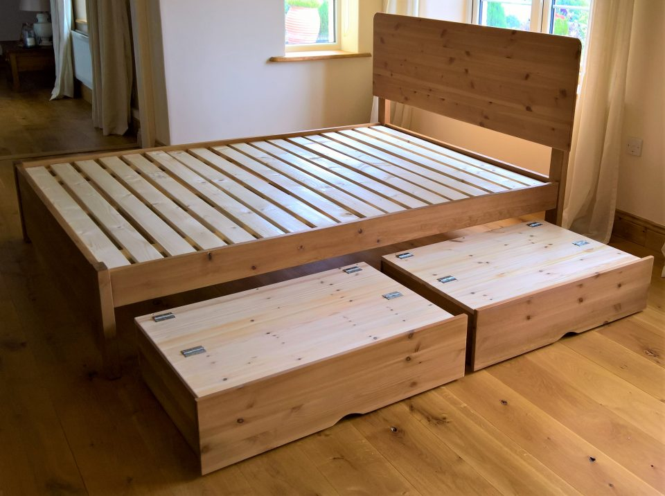 Under Bed Storage Drawers With Wheels Feelgood Eco Beds