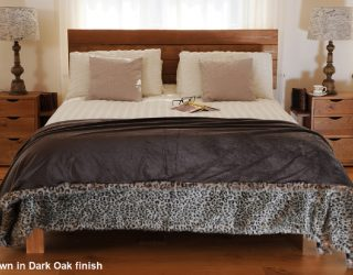 wooden bed frame voc free