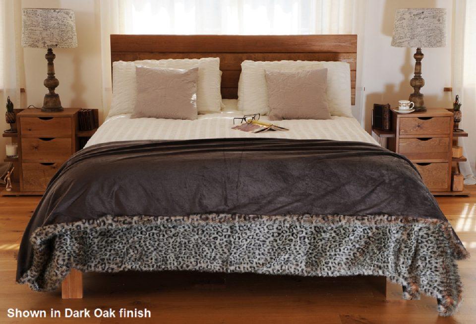 wooden bed frame voc free