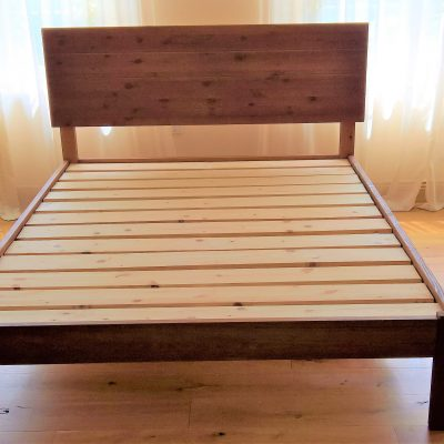 Wooden Bed Frame Construction