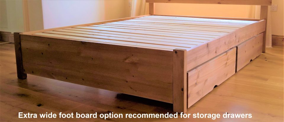 The Thames Handmade Wooden Bed Frame