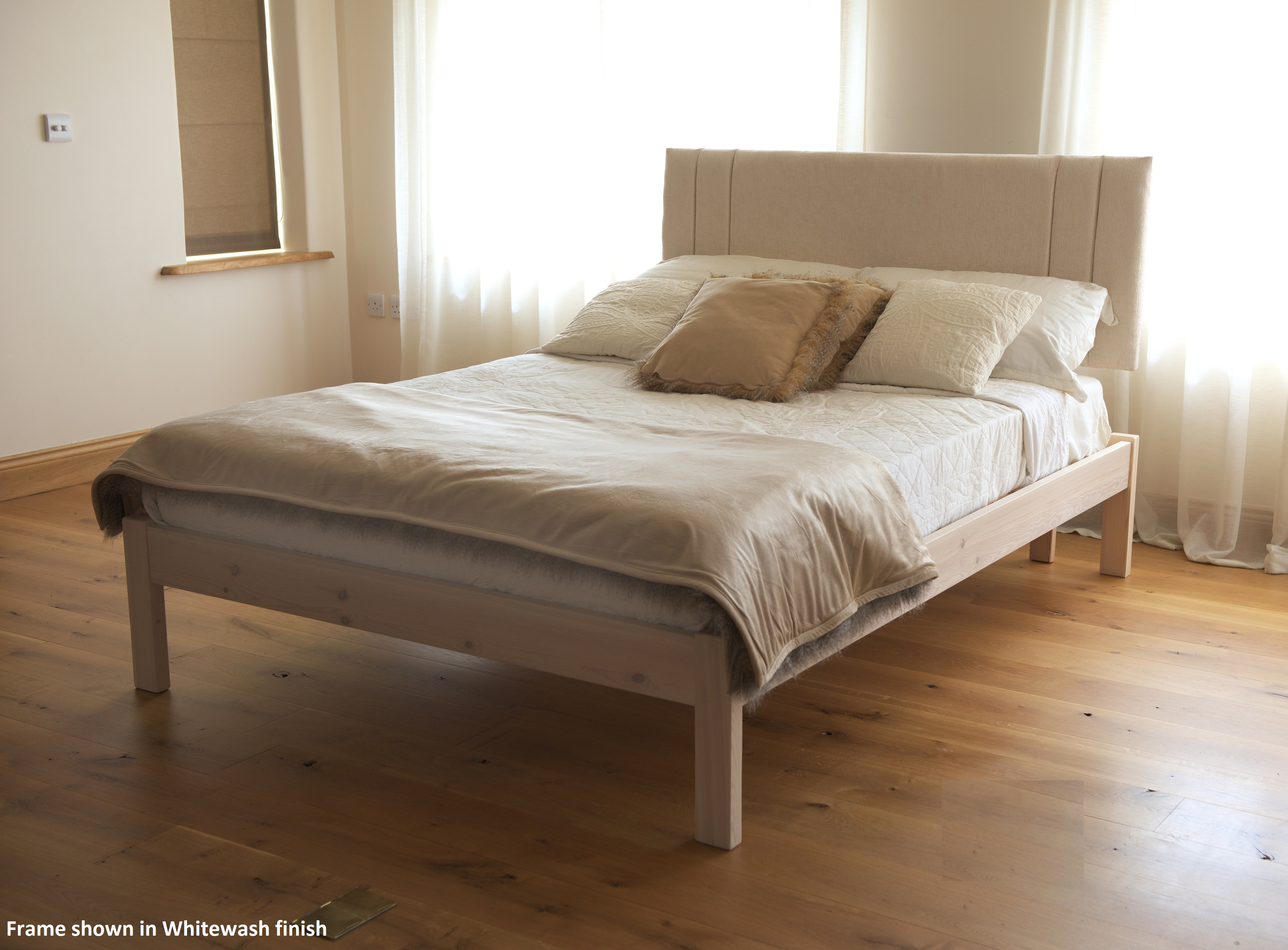 The Tyne Handmade Solid Wood Bed Frame