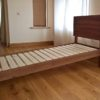 inclined bed and headboard