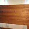 headboard made from solid wood